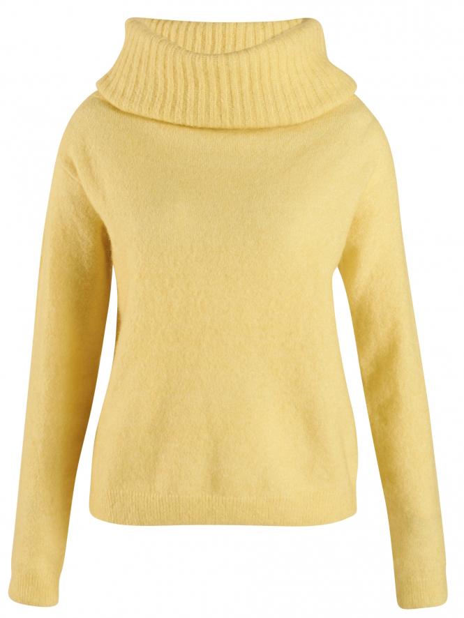 trend kleur geel trui