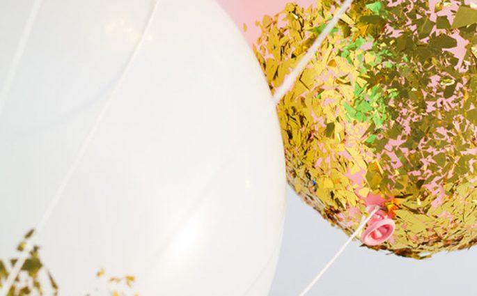 glitter ballonnen