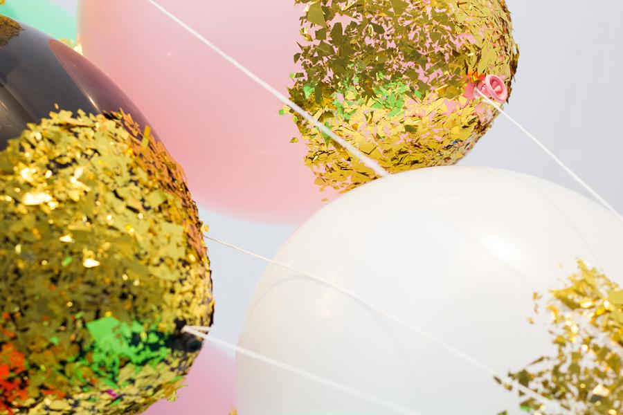 glitter ballonnen maken