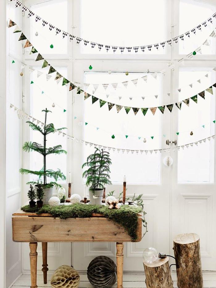 kerst interieur ideeen slingers