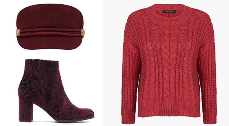 modekleur rood fashion