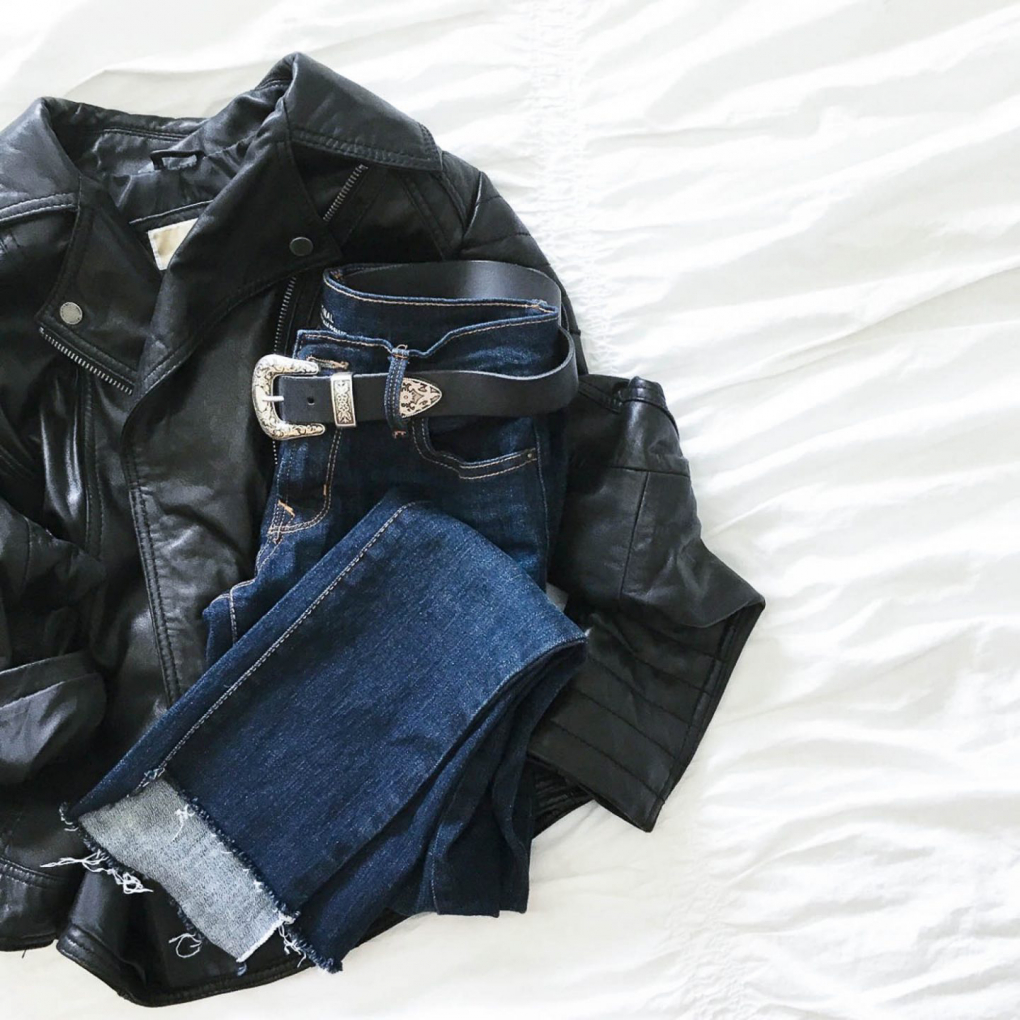 diy uneven hem jeans fashion