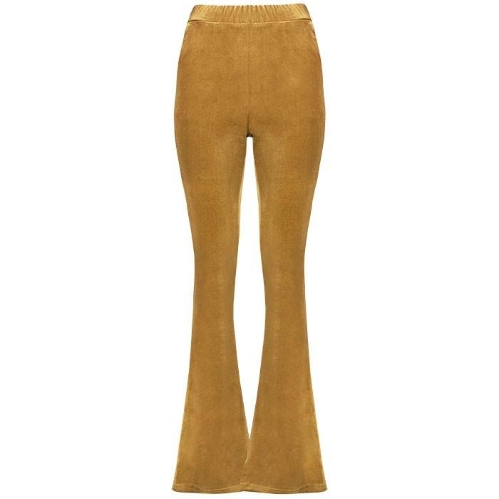 flared pants goud
