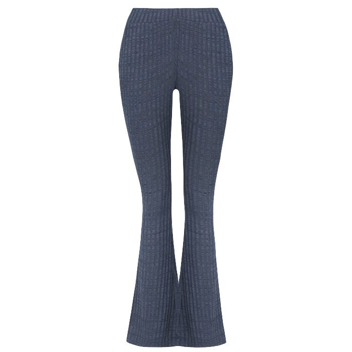flared pants blauw