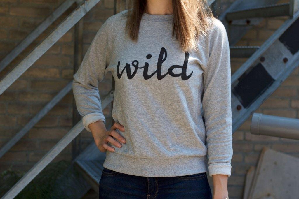 diy statement t shirt sweater