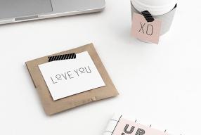 DIY Valentijn: kaarten & giftcards om te printen