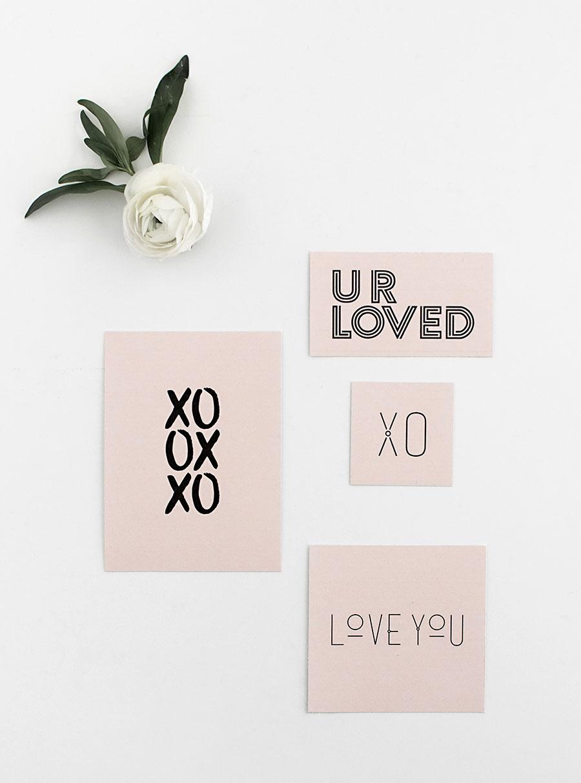 diy valentijn kaartjes