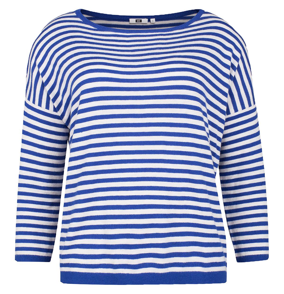 warme sweaters strepen blauw