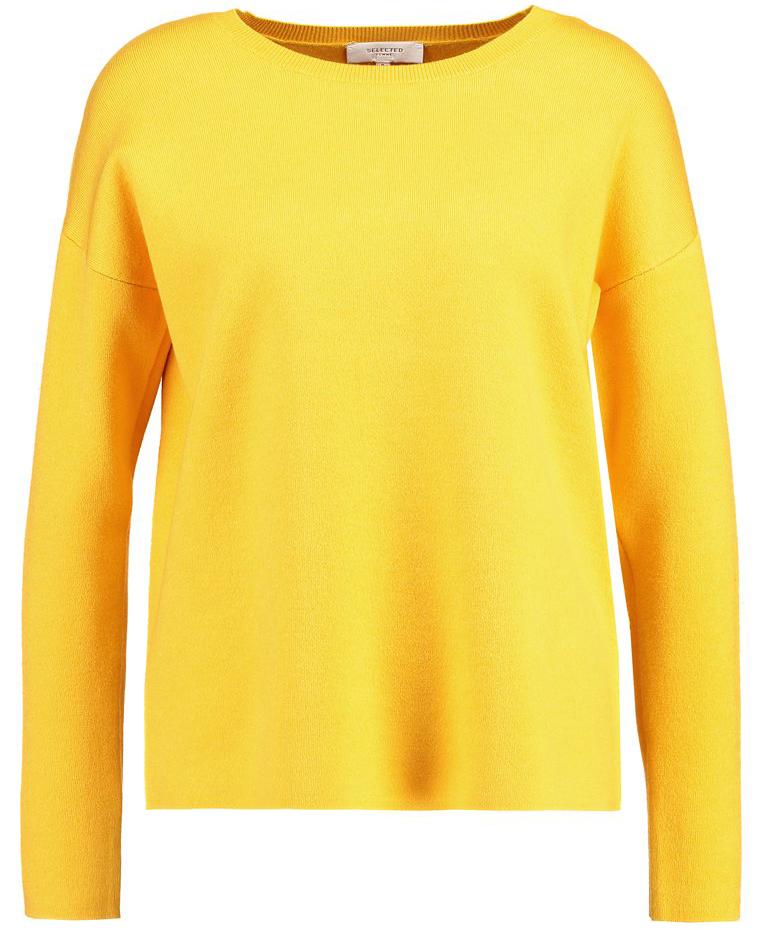 warme sweaters trui geel