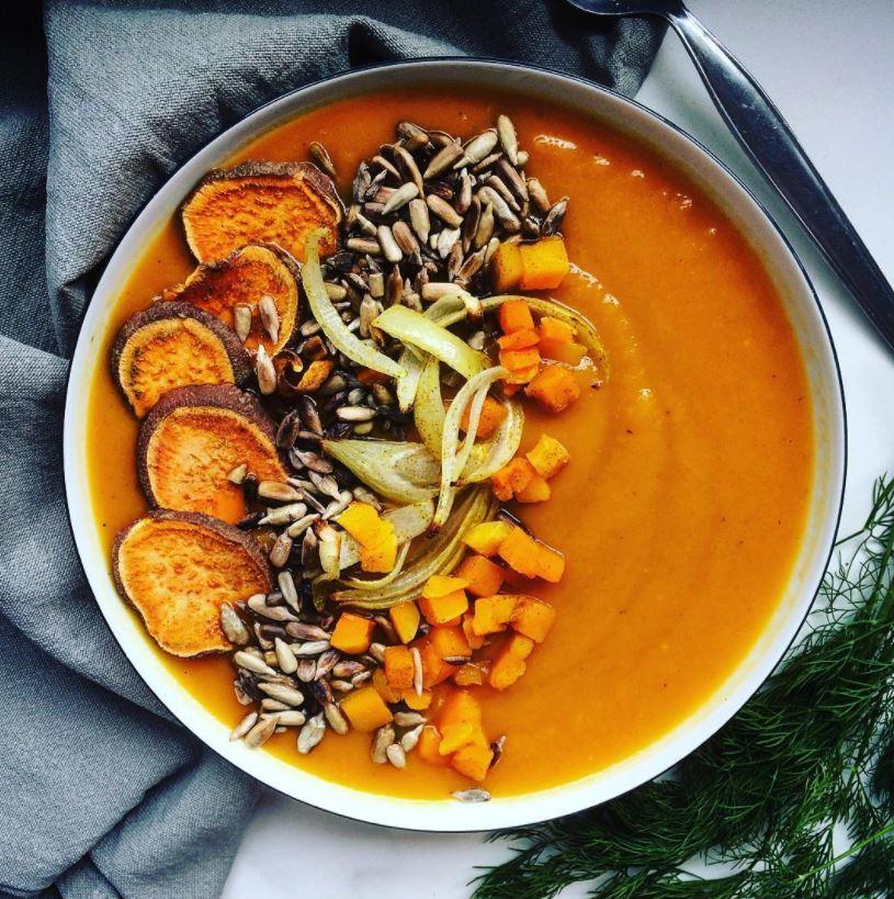 gezonde soep recepten pompoen