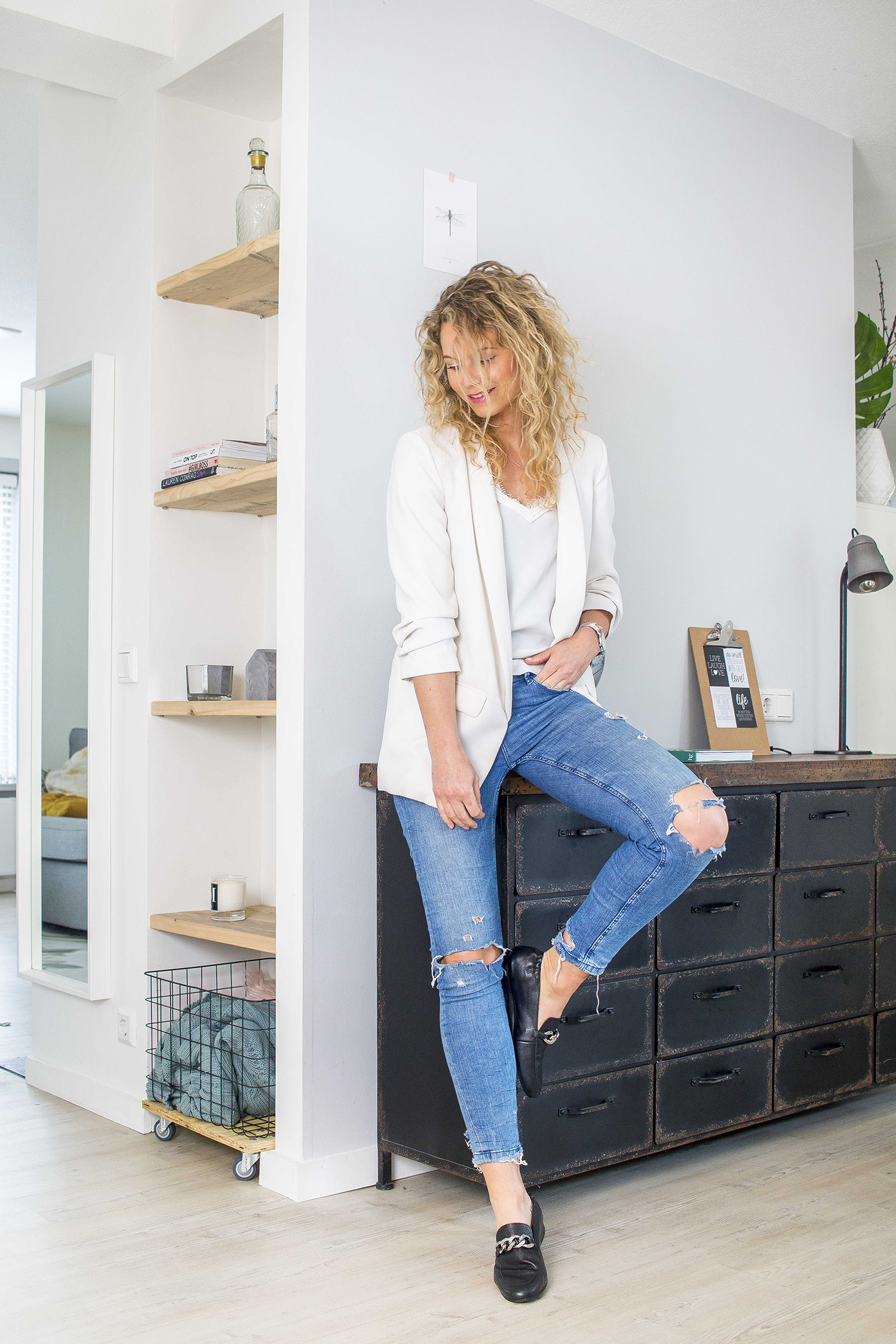 outfit met loafers