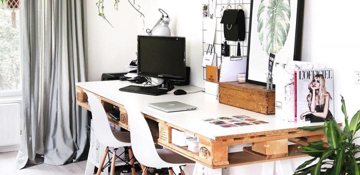 Werkkamer inrichten – tips voor een fijne thuiswerkplek