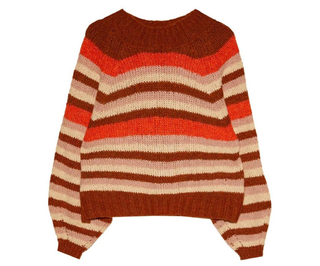 warme sweater strepen