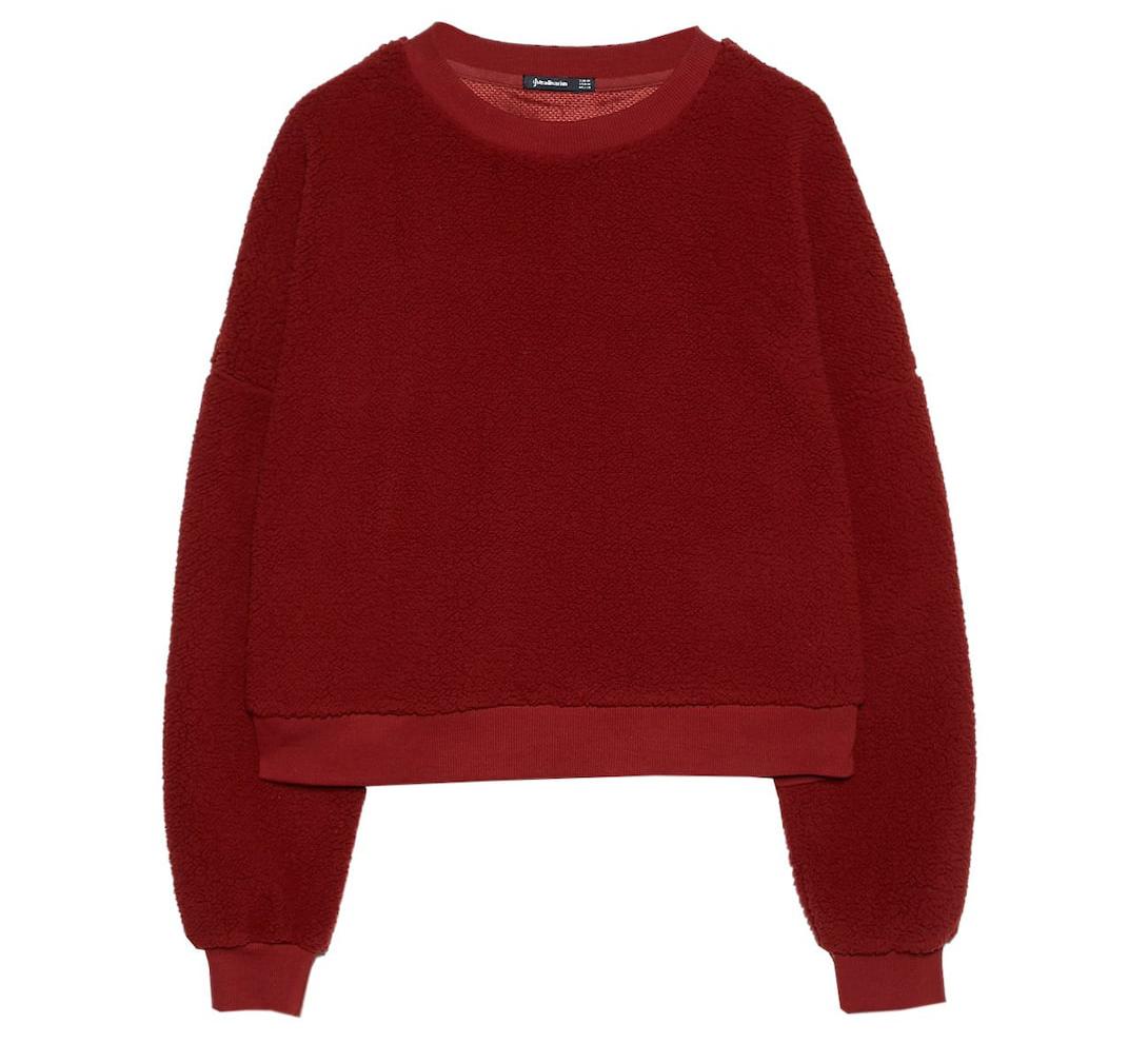 warme sweater teddy