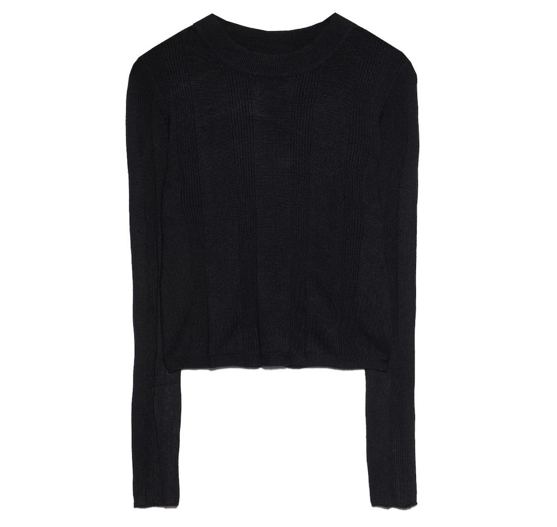 warme sweater zwart
