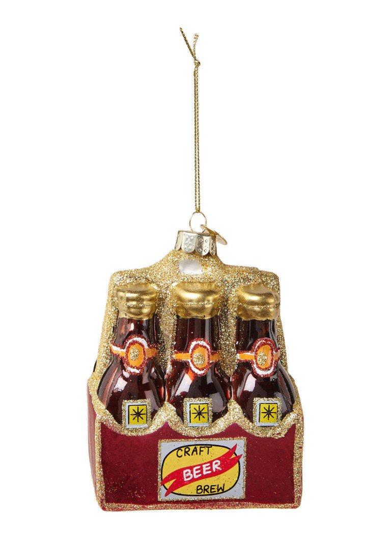 grappige kerstballen bier