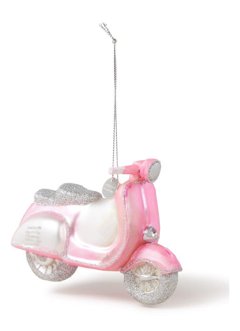 grappige kerstballen scooter
