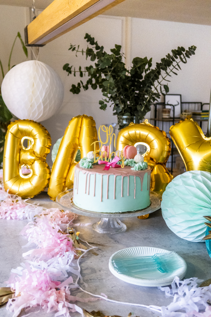 taart gender reveal