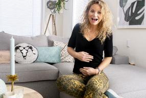 Ik ben zwanger!! Zwangerschapsvlog #1