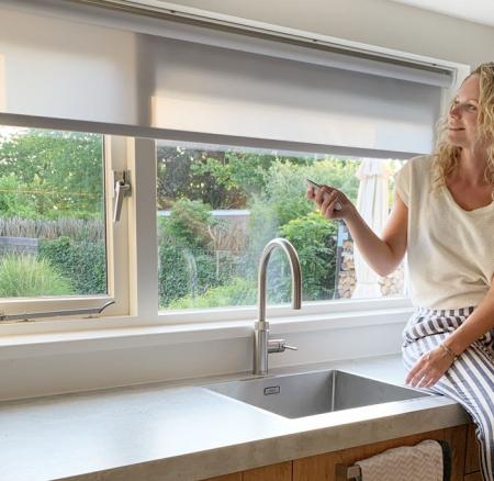 De finishing touch voor onze keuken