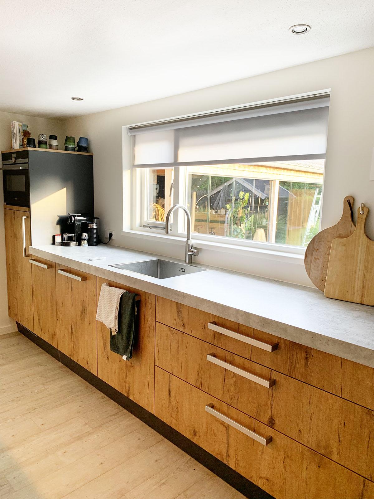rolgordijn keuken