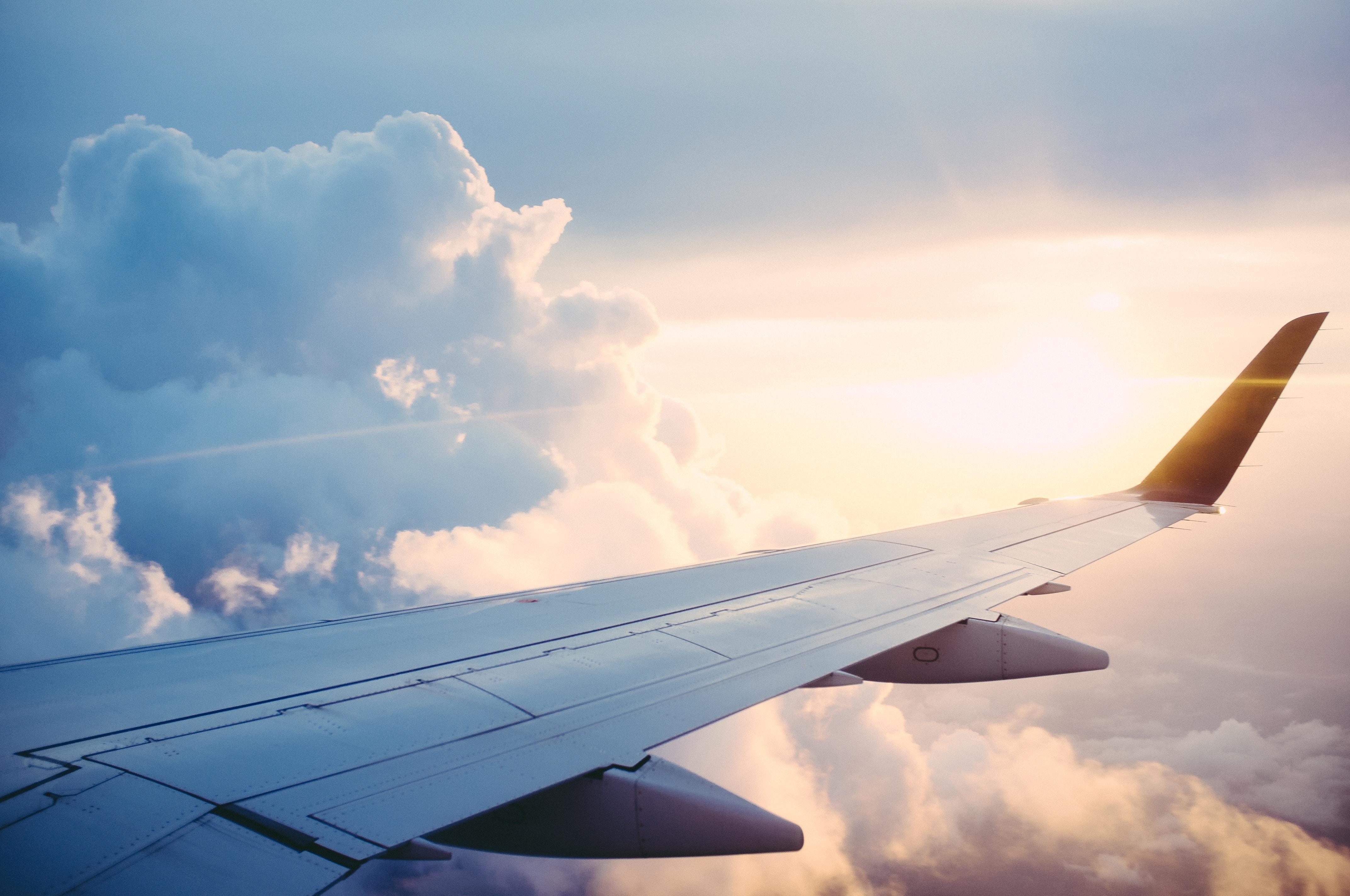vakantiestress vlucht